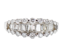 Glittering Diamond Wedding Band