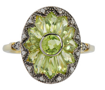 Deposit Only on Peridot Ring 19091