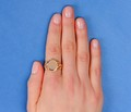 Antique Fancy Signet Ring in Gold