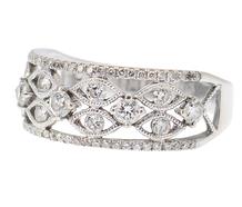Romantic Diamond Wedding Ring
