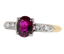 Royale - Ruby Diamond Engagement Ring