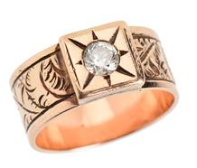 Victorian Diamond Set Wedding Ring