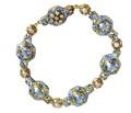 Awe Inspiring - Art Nouveau Aquamarine Bracelet