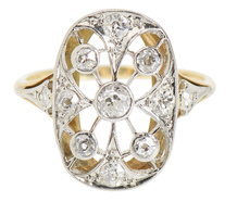 Romance – Edwardian Diamond Ring