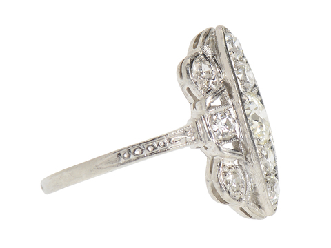 Art Deco Delight in a Diamond Ring