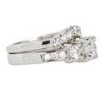 Estate Diamond Wedding Set