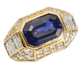 Showstopper – Sapphire Diamond Statement Ring