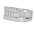 Bedazzled Diamond Half Eternity Band