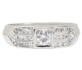Versatile Half Eternity Band of Diamonds