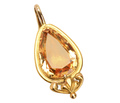 Georgian Beguiling Topaz Locket Pendant