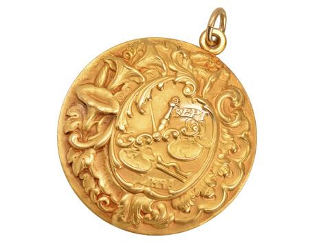 Zodiac Libra Pendant of Sloan & Co.