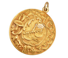Zodiac Libra Pendant of Sloan & Co.