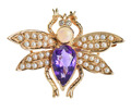 Vintage Whimsical Insect Brooch
