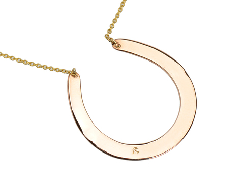 Antique Edwardian Horseshoe Necklace