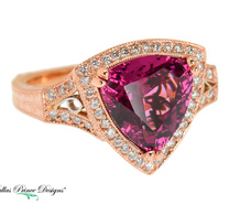 Fab Dallas Prince Mahenge Garnet Ring