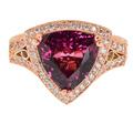 Fab Dallas Prince Mahenge Garnet Ring
