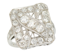 Signature Edwardian Diamond Ring