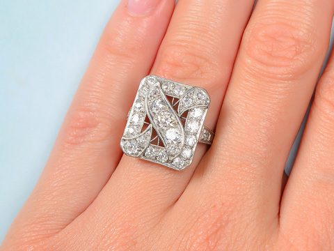 Signature Edwardian Diamond Ring