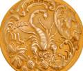 Antique Scorpio Zodiac Pendant Sloan & Co.