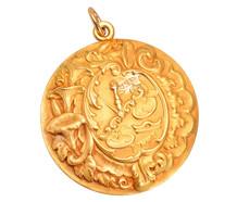 Antique Zodiac Libra Pendant of Sloan & Co.
