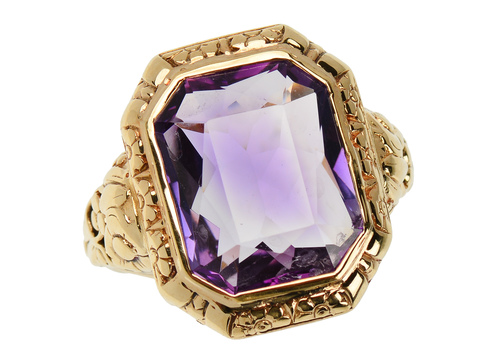 Striking Antique Amethyst Ring