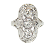 Illumination - Art Deco Diamond Ring