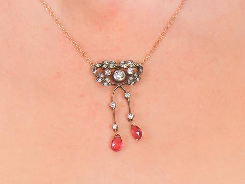 Antique Edwardian Négligée Necklace