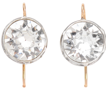 Icy Sizzle - 5 c. Paste Earrings Divine