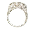 Outstanding Three Stone Diamond Ring