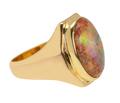 Inner Worlds -Vintage Opal Ring