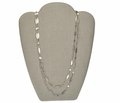 Victorian Niello Long Chain Necklace
