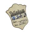 "Sweet Heart - Pearls & Palladium ""S"" Locket"