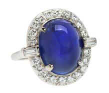 Vintage 19.51 C. Purple No Heat Sapphire Ring