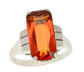 Retro Citrine Vintage Ring