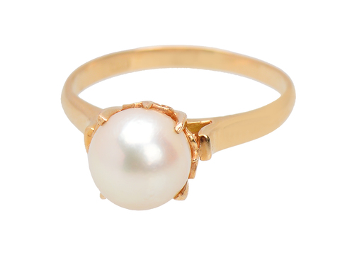 Culture Club - Solitaire Pearl Ring