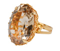 Brazen Beauty - 1970s Citrine Estate Ring
