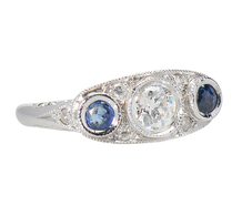Delight in a Sapphire Diamond Ring