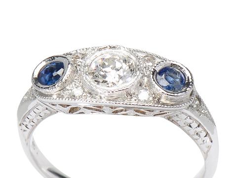 Delight in a Sapphire Diamond Ring