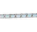 Azure Waters - Blue Topaz Silver Bracelet