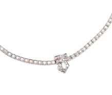 Evermore - Mid Century Diamond Rivière Necklace