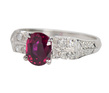 Red Alert - Ruby Diamond Ring