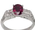 Red Alert - Ruby Diamond Ring