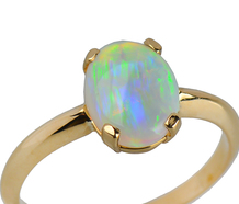Mesmerize - Opal Gold Vintage Ring