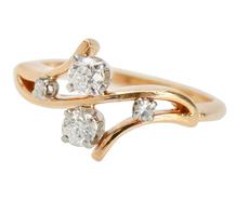 Moi et Toi Diamond Engagement Ring