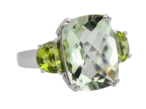 Green with Envy - Gemstone Statement Ring
