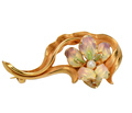 Whiteside & Blank Art Nouveau Iris Brooch