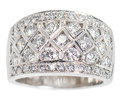 Wide & Wonderful Estate Diamond Band