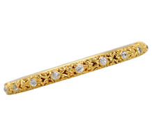 Family Ties - Antique Diamond Bangle of 1904