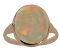 Flash & Dazzle - Rare Vintage Mexican Opal Ring