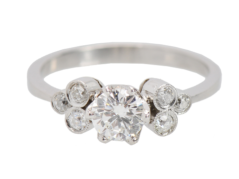 Eterne - Vintage Diamond Engagement Ring